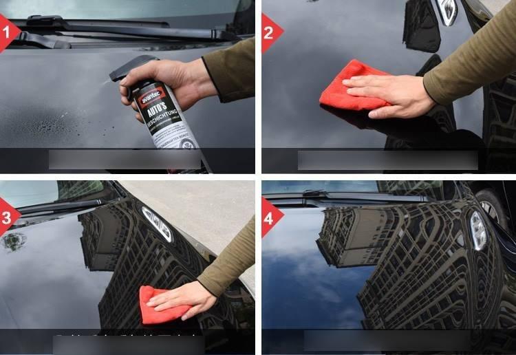 Xịt phủ bóng Nano Công nghệ Đức cho xe 10