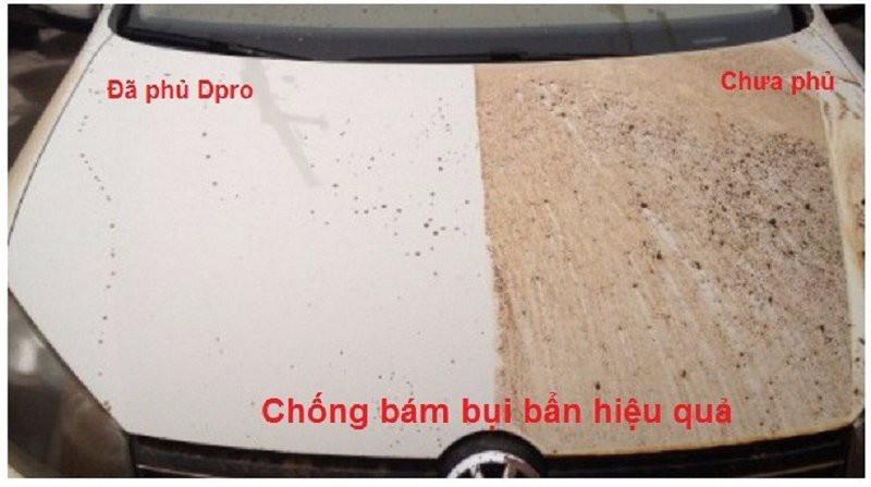 Xịt phủ bóng Nano Công nghệ Đức cho xe 8