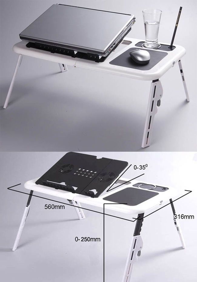 bàn để laptop đa chức năng e-table - hình 2