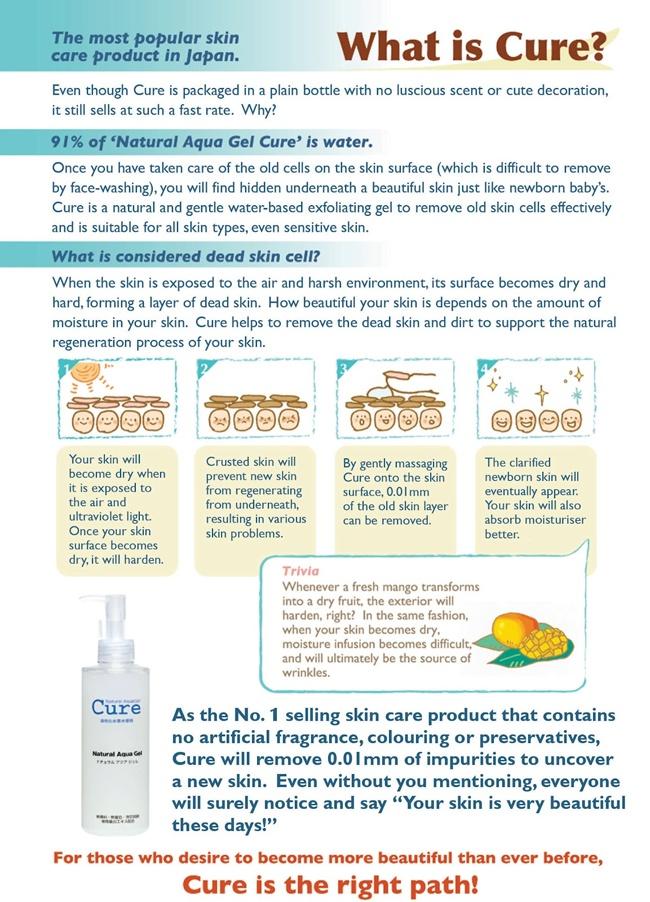 cute natural aqua gel infographic 1