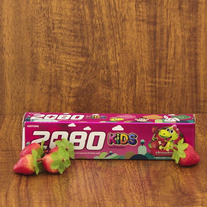 Kem đánh răng cao cấp 2080 KIDS hương dâu