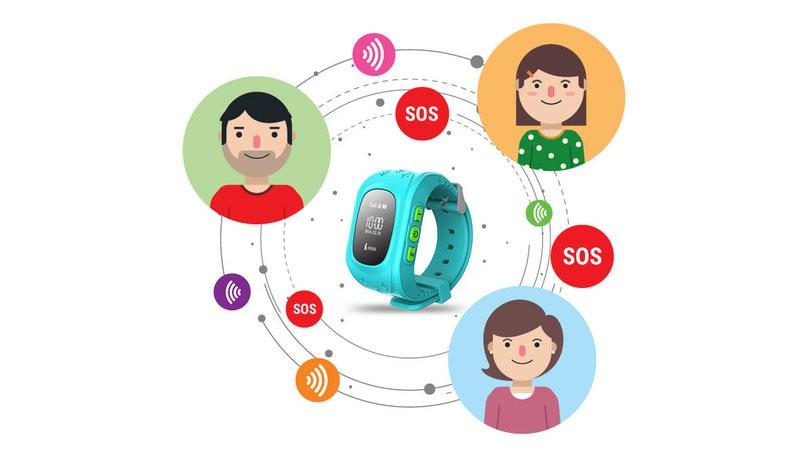 Đồng hồ định vị thông minh dành cho trẻ em 4