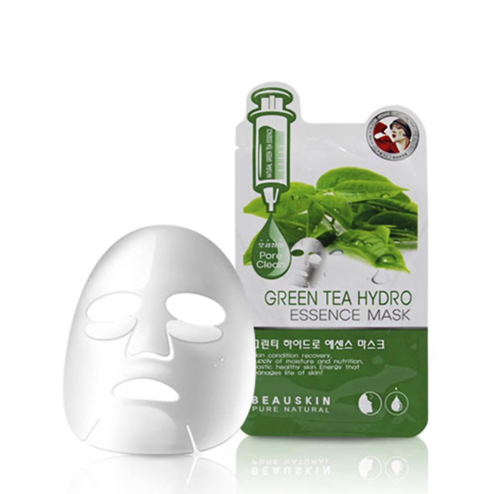 GREEN TEA HYDRO ESSENCE MASK – Pore clean (Sạch sâu tận lỗ chân lông)