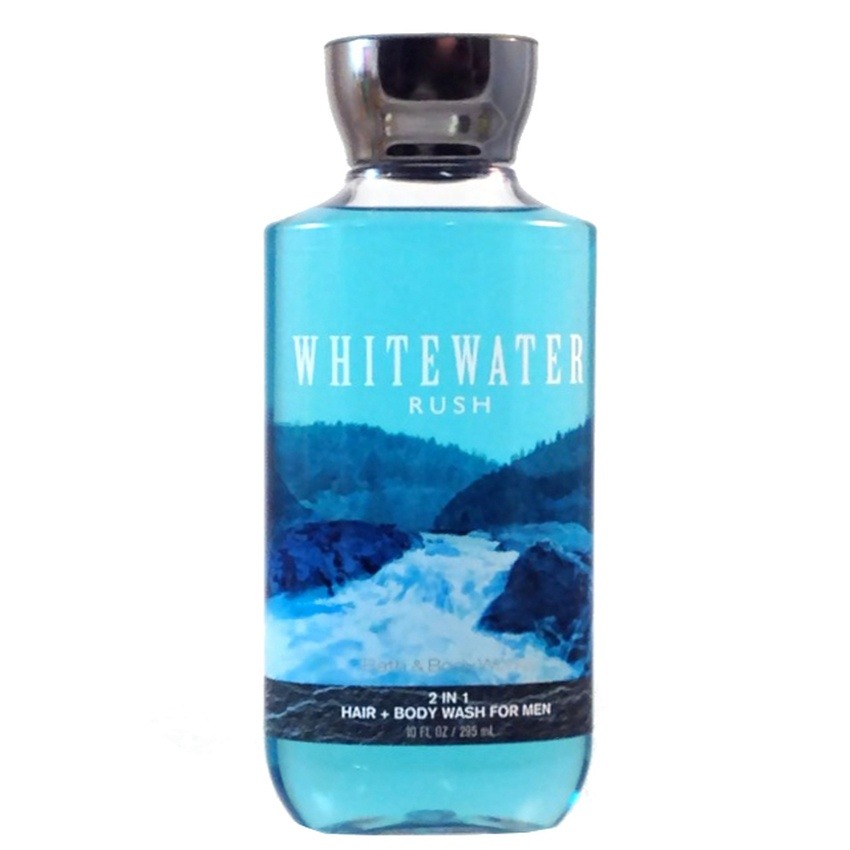Dầu gội sữa tắm nam 2 trong 1 - White Water Rush - Bath Body Works - For men - 295ml