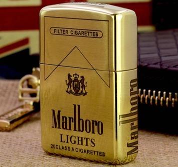zippo chính hãng hiệu thuốc lá marlboro đồng thau