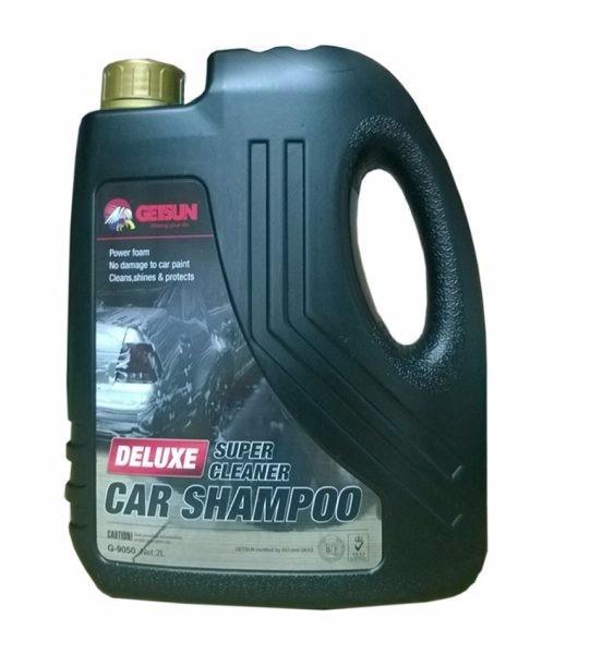 Nước rửa ô tô xe máy chuyên dụng Getsun Deluxe 2L 1