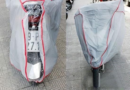 Bạt phủ xe máy 1