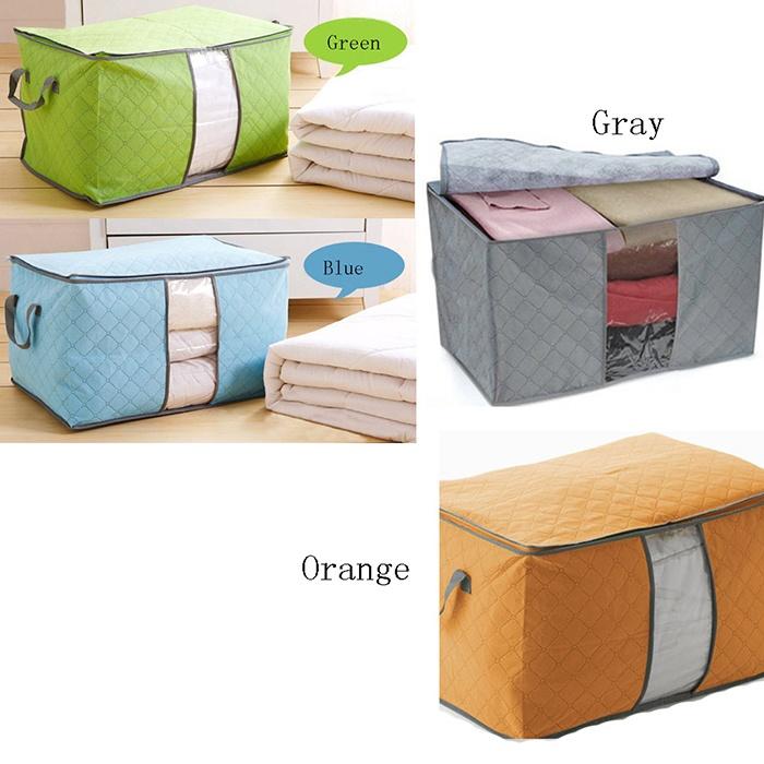 Túi lớn đựng chăn, quầnáo - chất liệu cao cấp, chắc chắn - 2