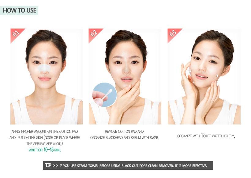 Kết quả hình ảnh cho secret key black out pore clean remover