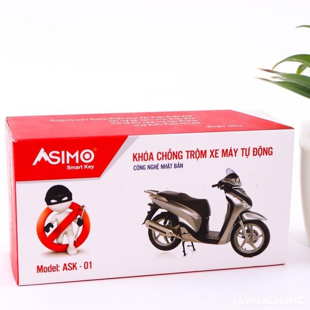 Khóa chống trộm xe máy tự động ASIMO - 7