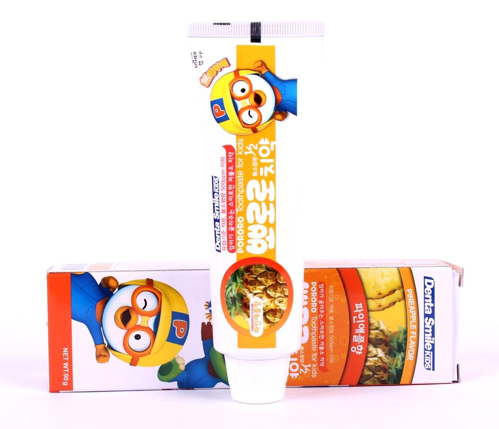 Kem đánh răng cho bé vị dứa Pororo chính hãng Pororo Hàn Quốc