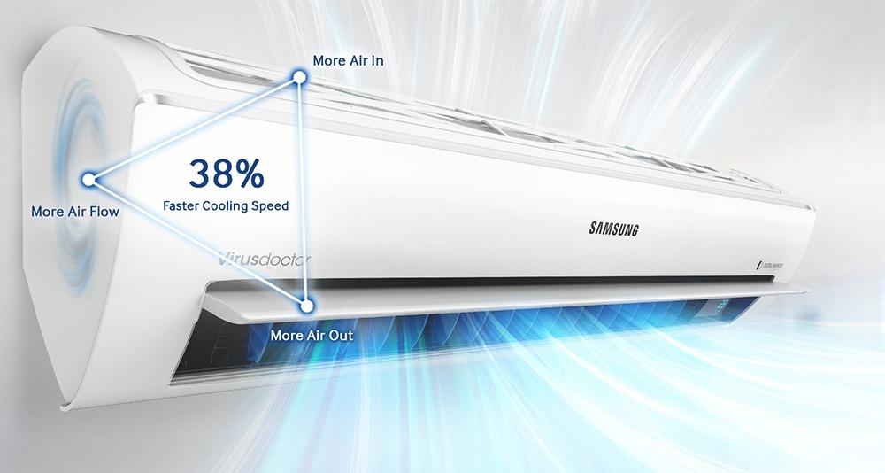Máy Điều Hòa 1 Chiều Inverter Samsung AR12KVFSCUR - 1.5 HP