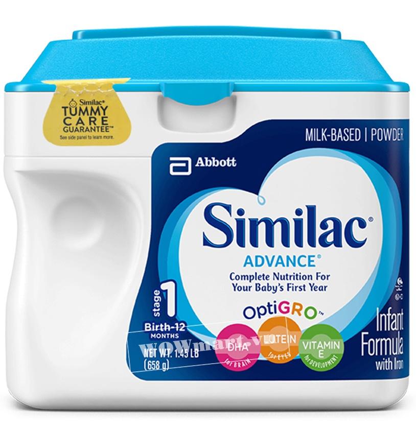 Giới thiệu sản phẩm Similac Advance 658g