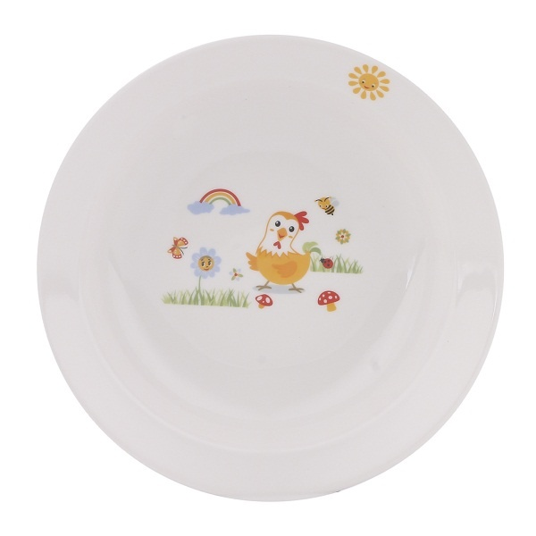 Bộ bàn ăn sứ cao cấp Dong Hwa 3 món cho trẻ KIDSET01