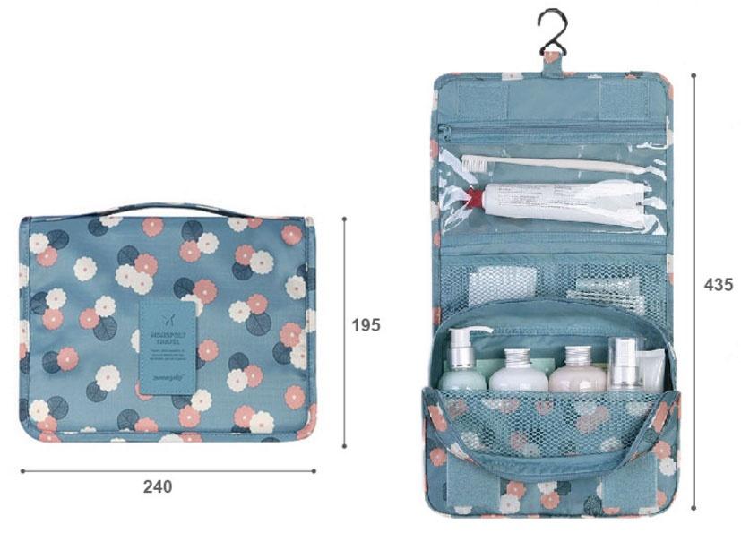 Túi đựng mỹ phẩm gấp gọn