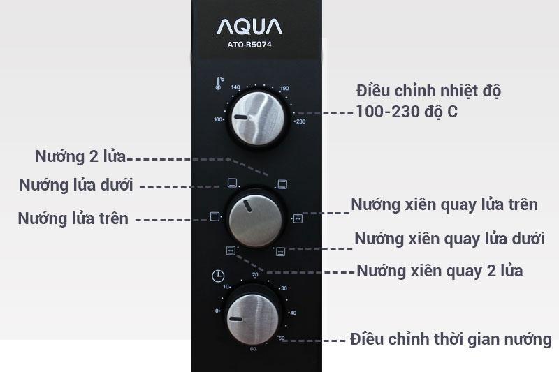 Lò nướng Aqua ATO-R5074 29 lít