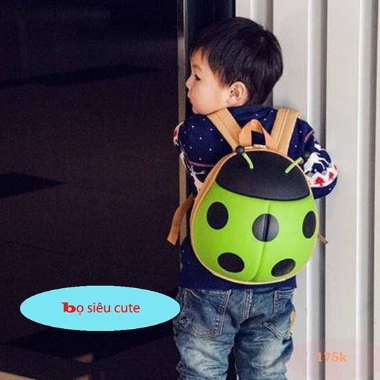 Balo hình con bọ cánh cam thời trang cho bé