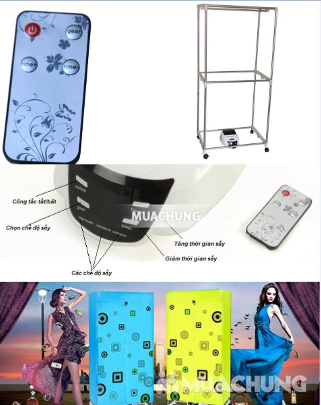 Tủ sấy quần áo Samsung tủ vuông 2 tầng sấy - 6