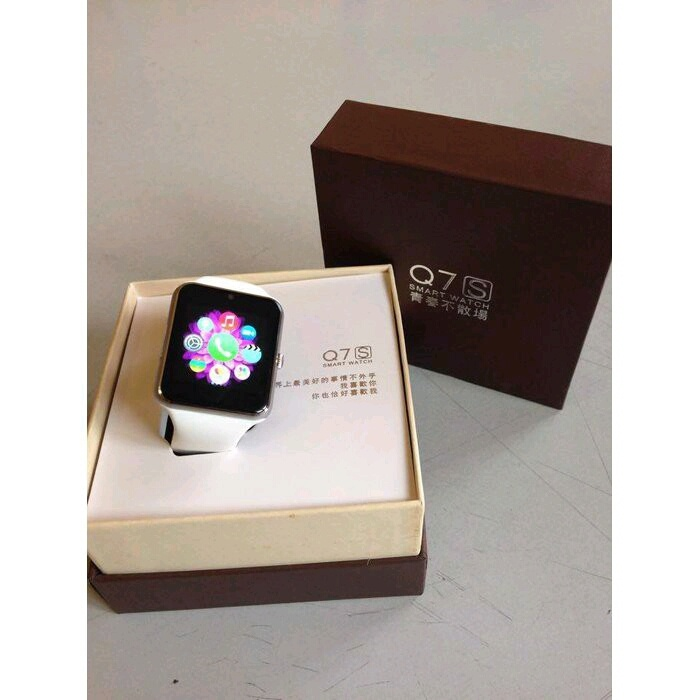 Đồng hồ thông minh smart watch Q7S đen 2