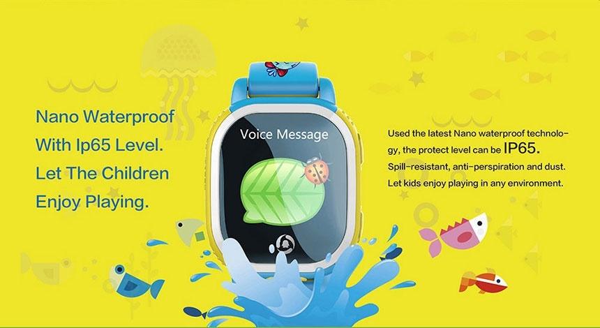 Đồng hồ định vị GPS QQ Watch PQ708 cho trẻ em 4