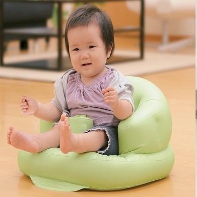 Ghế hơi tập ngồi cho bé bơm tự động 4