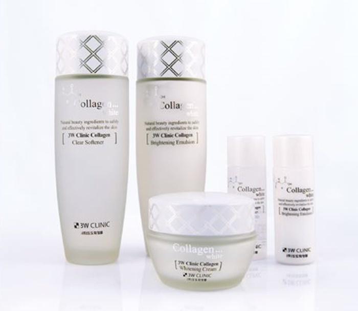 Image result for collagen white 3w clinic collagen whitening cream