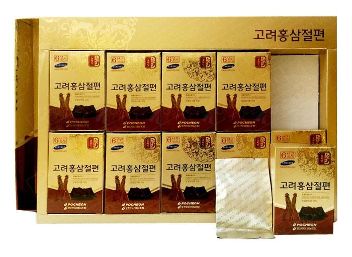 Kết quả hình ảnh cho Hồng sâm lát tẩm mật ong Pocheon