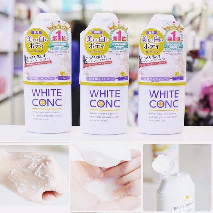 Image result for sữa tắm trắng da white conc thương hiệu