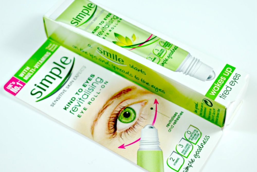 Image result for lăn mắt simple sensitive skin expert kind to eyes