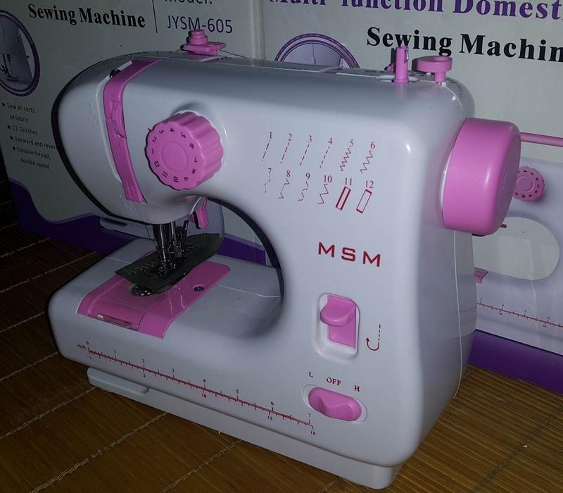 Máy May Mini Gia Đình JYSM-605 - 12 Kiểu May 5