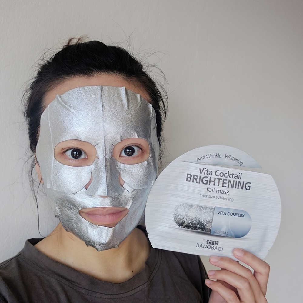Image result for vita cocktail age foil mask brightening