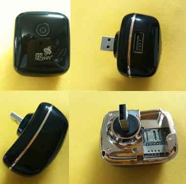 PHÁT WIFI TỪ SIM 3G AB14 CẮM NGUỒN ĐIỆN USB 1
