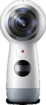 Front view of Gear 360 (2017)