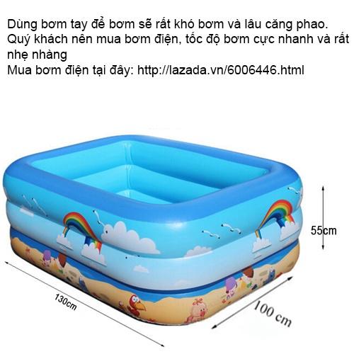 Bể bơi phao cho bé Summer Sea C013