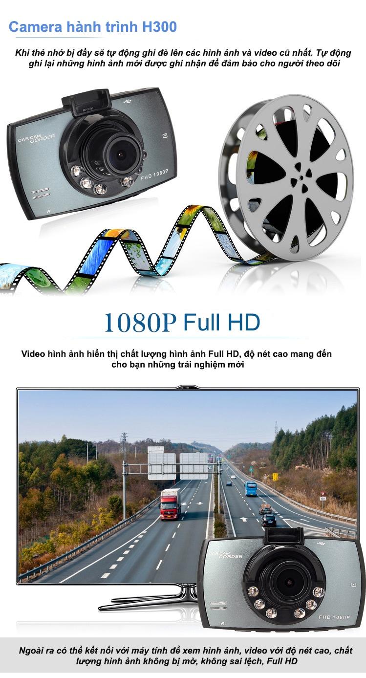 camera hành trình h300
