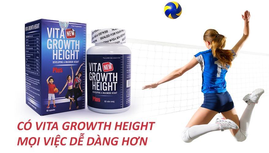 có vita growth height mọi việc dễ dàng hơn