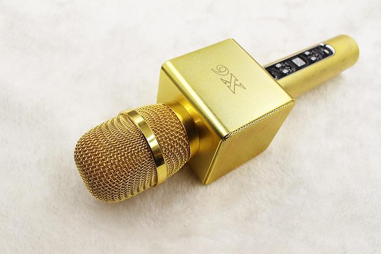 mic kem loa x6 chinh hang, micro hat karaoke bluetooth cuc hay 09
