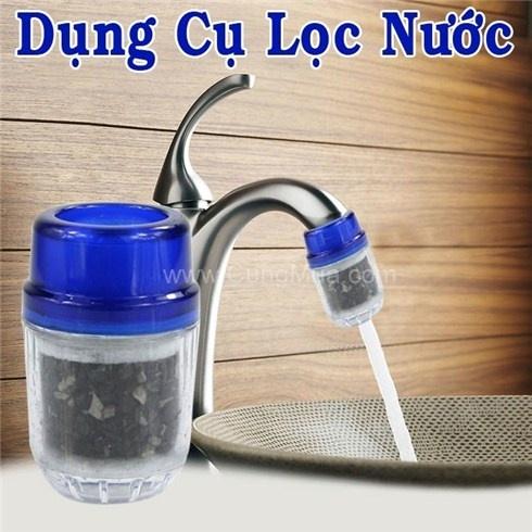 Combo 2 đầu lọc nước tại vòi