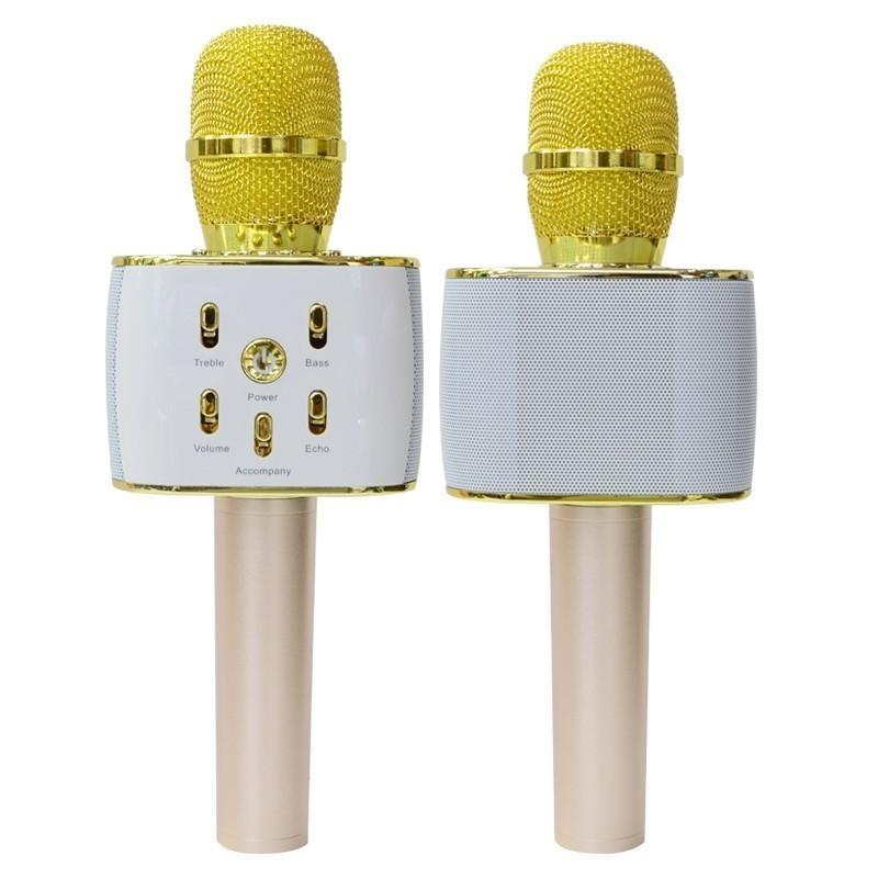Trang chủ KTV Wireless Microphone Karaoke Player Bluetooth ngưng Hifi Loa siêu Loud Q5 By bài viết