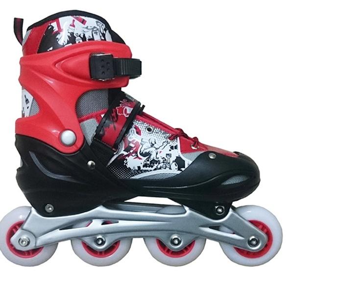 Giày trượt patin 906 - đỏ