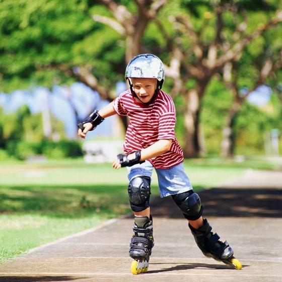 Trượt patin phù hợp với mọi lứa tuổi