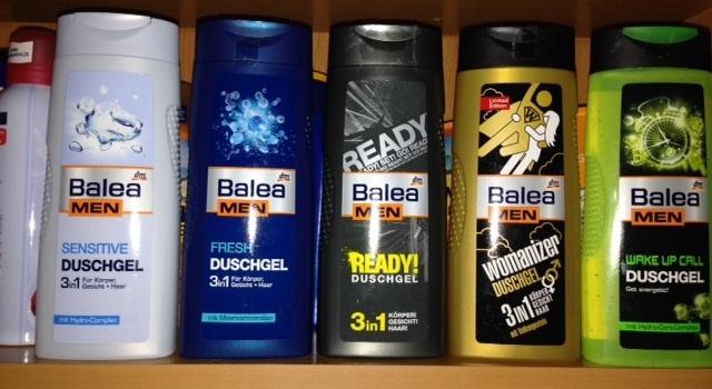 Sữa tắm nam Balea Men 3 trong 1