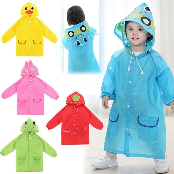 Áo mưa xuất nhật nghộ nghĩnh cho bé