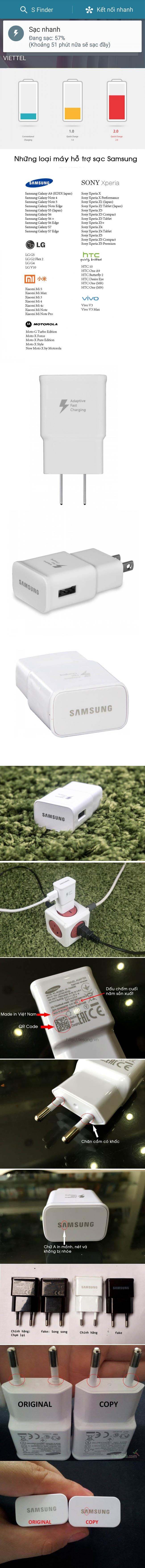 Sạc nhanh Samsung Fast Charge 2.0 chính hãng 100% - 4