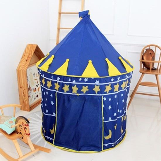 Lều bóng lâu đài hoàng tử bé (Xanh)