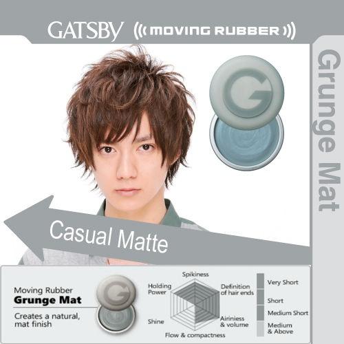 Gatsby Moving Rubber Grunge Mat 80gr