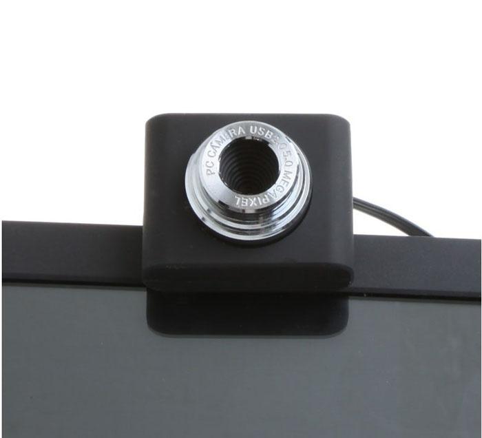 USB 2.0 50.0 m PC Camera HD Webcam cho Laptop Máy Tính Để Bàn Đen - 5