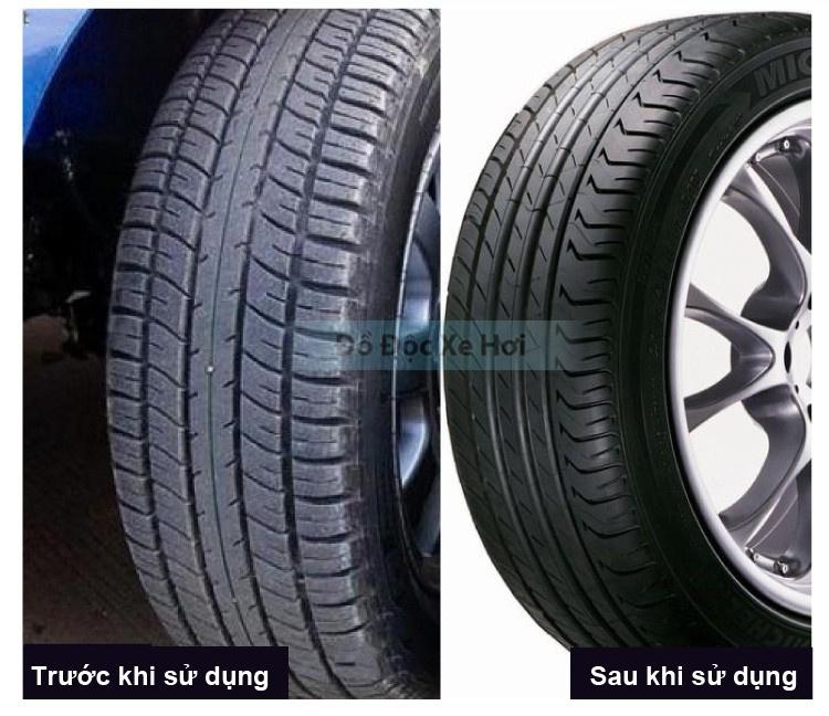 Kiểm chứng bình xịt bảo vệ lốp