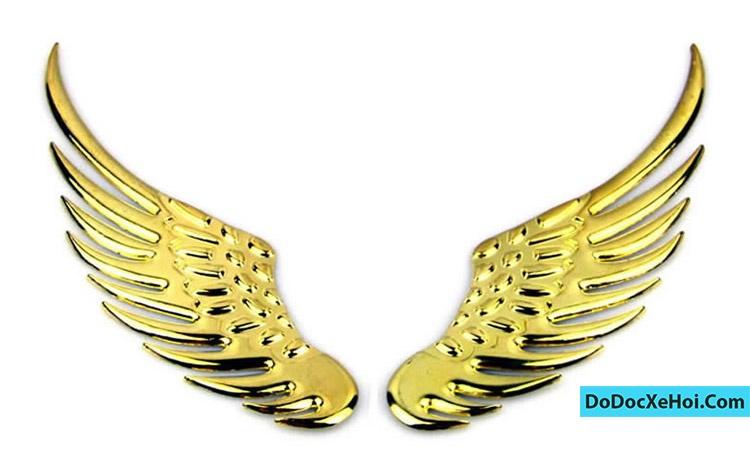 cánh thiên thần trang trí logo