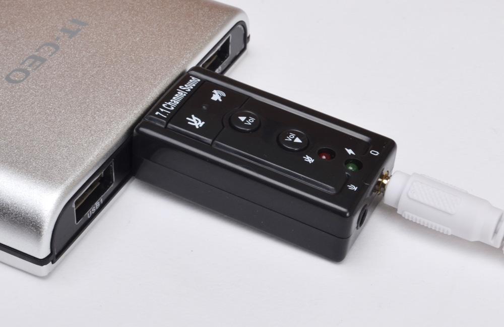 USB sound âm thanh 3D Taiwan 7.1 dùng trong trường hợp máy tính bị hỏng  cổng sound-âm thanh mà bạn ngại mang đi sửa chữa vì nhiều lý do khác nhau.
